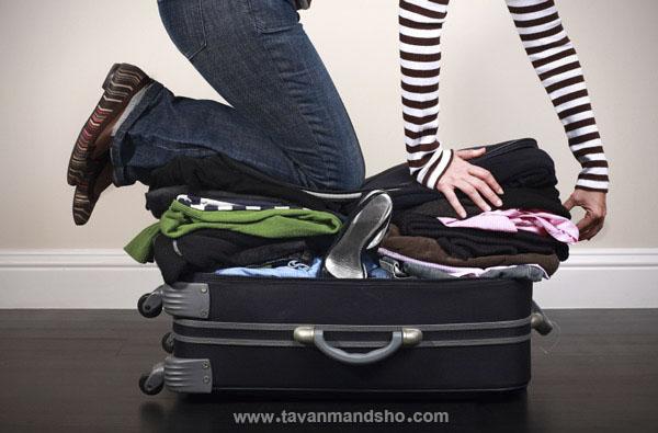 خودشناسی آموزش خود شناسی چمدان بستن سفر حامد سلیمانی توانمندشو